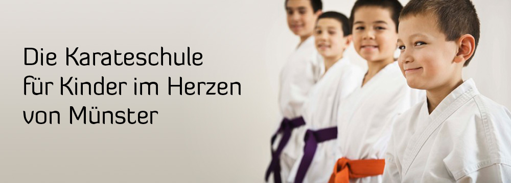 Karate fuer kinder in Münster